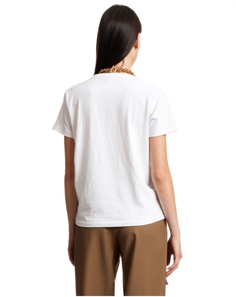 70S Recycled Loose Tee White