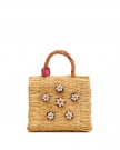 Mini Shella Natural Woven Bag