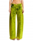 Lime Green Denim Jeans