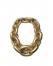 Seoul Necklace in Gold Foil