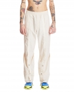 Beige Nylon Trousers