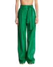 Palazzo Pants in Faux Leather