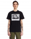 T-Shirt Band in Cotone Nero