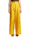 Yellow Cotton Trousers