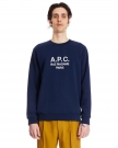 Rufus Navy Blue Cotton Sweatshirt